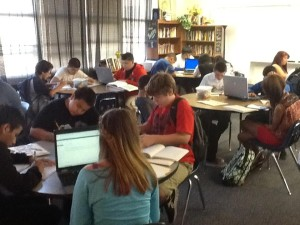 Mrs. Rasmussen's classroom of writers